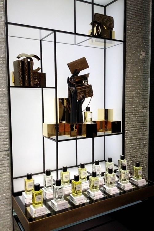 look inside the new store channel in new bond street, london.