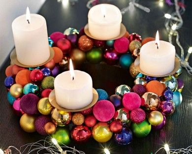 77 best Xmas  Adventskranz images on Pinterest  Christmas ideas
