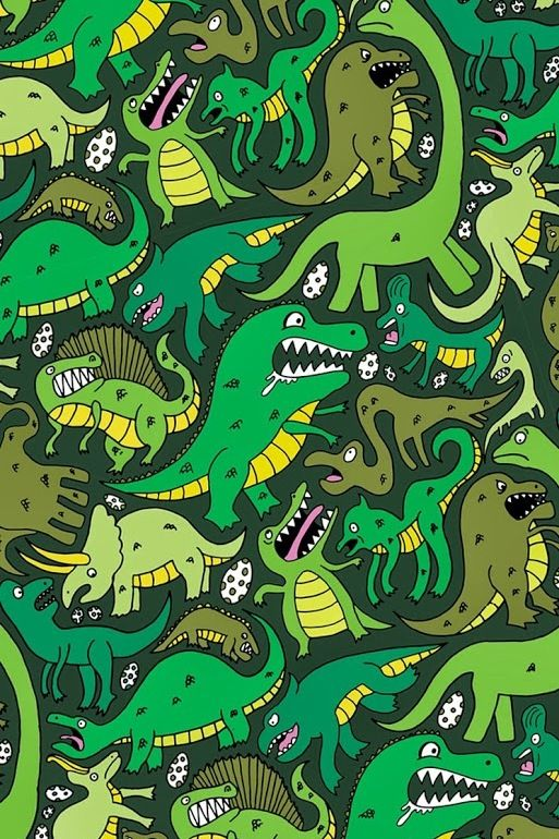 285 best images about printables back green on pinterest for Girly dinosaur fabric