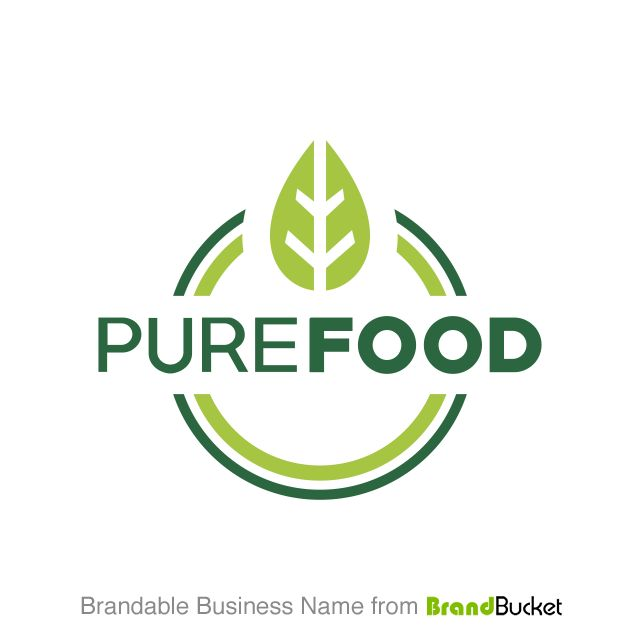 Purefood Is A Business Name On BrandBucket