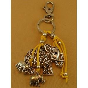 Llavero Elefante Amarillo