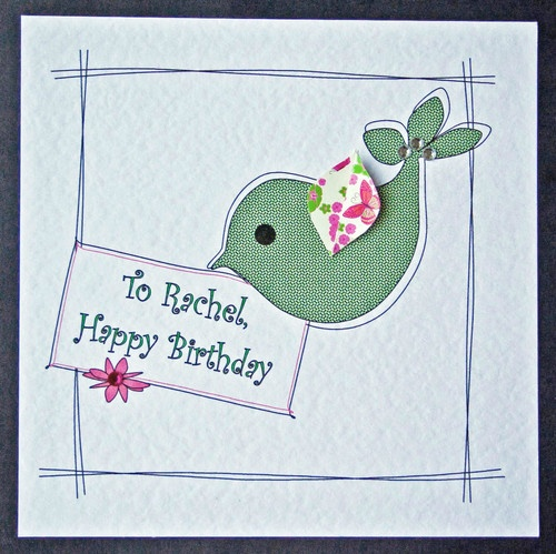 Handmade Birthday Cards For Girls Girls Numbered Birthday Card
