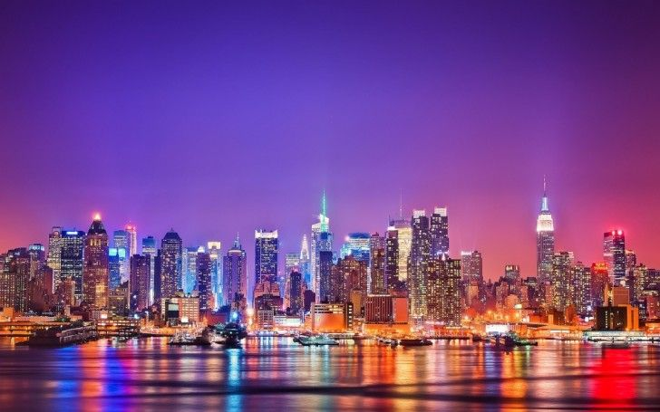 new york city HD wallpapers : Colorful New York City Wallpaper3