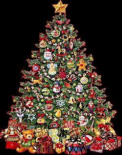 Borboleta Azul: Árvores de Natal