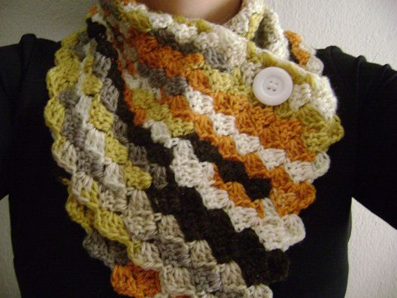 Crochet scarves in many many colors!!!