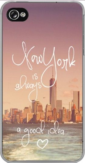 coque New York always... pour Iphone 4