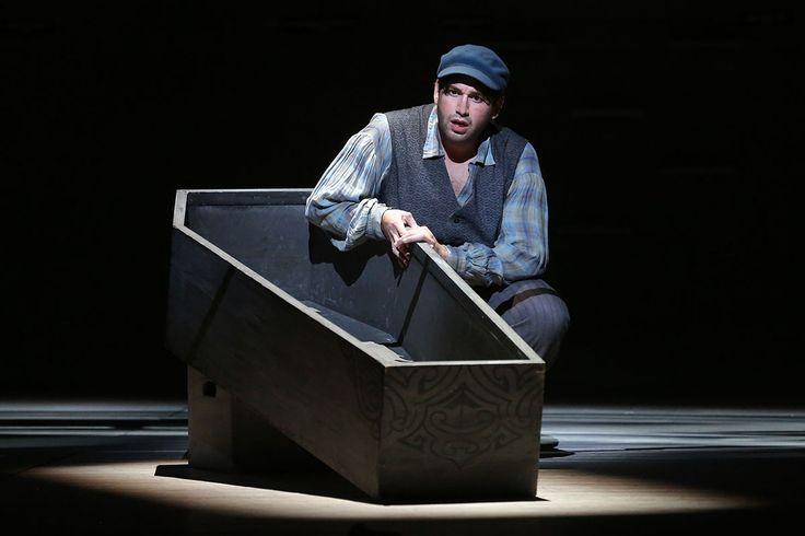 """Joshua Guerrero as Greenhorn in """"Moby-Dick"""""""