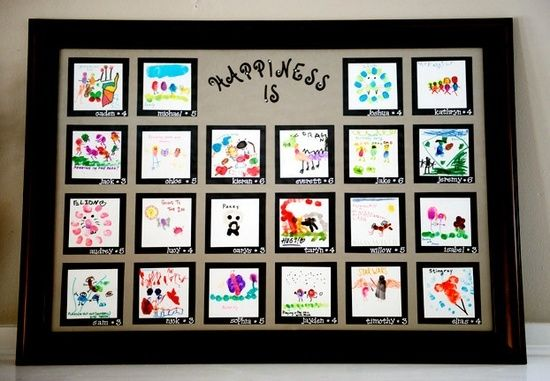 school auction class project ideas | class art projects for auction ...