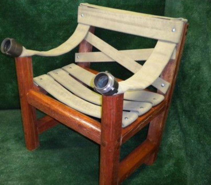 Fire Hose Chair