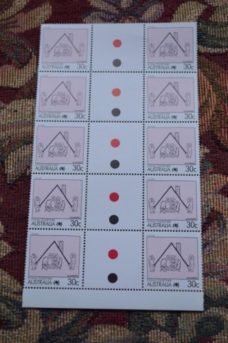 living-together-30c-stamps-block-of-five-gutter-pairs-MUH