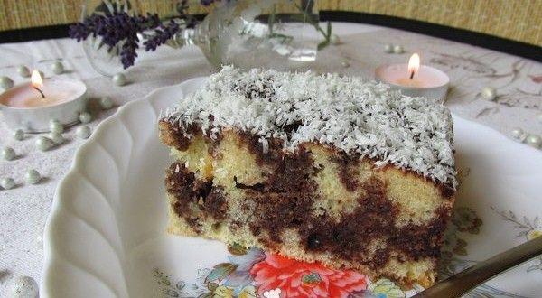 Kakaós-kókuszos fakanalas sütemény | Receptkirály.hu