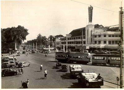 Ancol 1948     Gajah Mada 1950     Merdeka Barat / Thamrin 1950     Pintu Air 1950     Harmoni 1954     Jati Negara 1955     Menteng Raya ...
