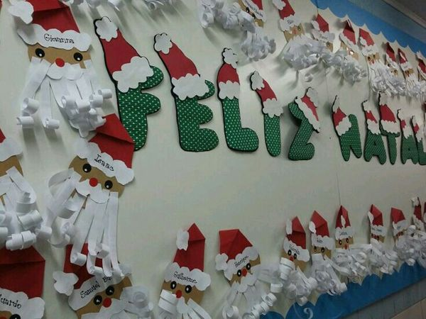 Painel De Natal Para Escola 25 Modelos Painel De Natal Arvores