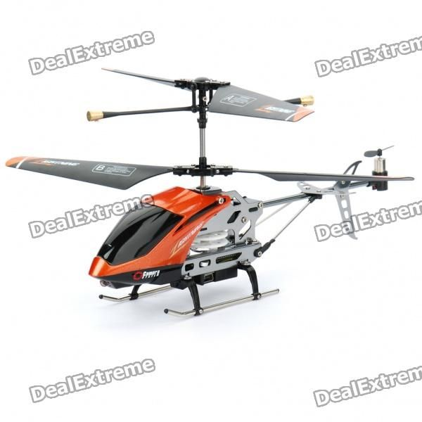 Sorteio de um Helicoptero Giroscópio C7 3.5-CH com Controle Remoto e Câmera Espiã com Lentes de 300KP da DX