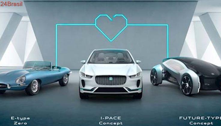 Todos veículos Jaguar e Land Rover vão usar tecnologia elétrica a partir de 2020