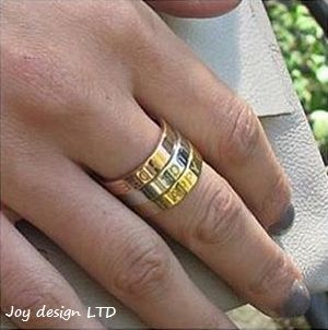 Rings witk sayings, Joytag.             NOK 199.-             www.smykkeboden.no
