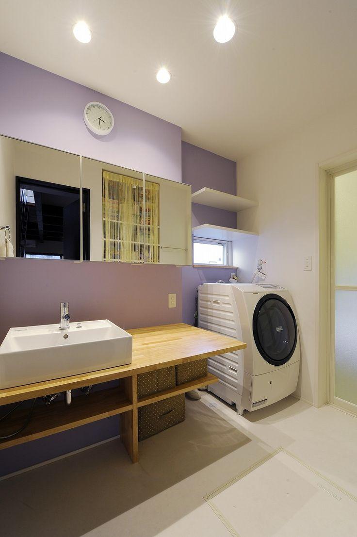 造作洗面台 ~憧れと日常の両立~ : ポウハウス