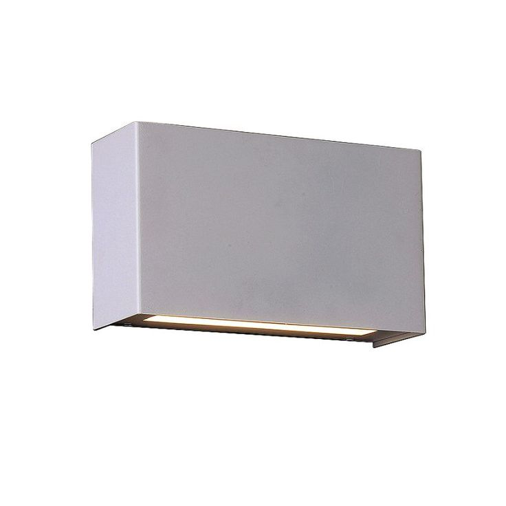 """WAC Lighting WS-25612 Blok 3000K High Output ADA Compliant LED Wall Sconce - 12"""" White Indoor Lighting Wall Sconces"""