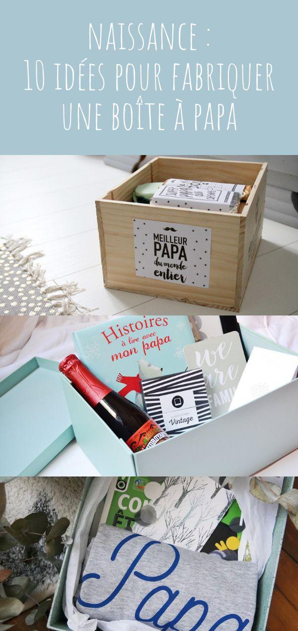 10 idées pour fabriquer une boîte à papa ! Un kit de survie à offrir au futu…