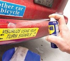How to remove stickers and sticker residue from metal surfaces. Good to know with little kids running around!