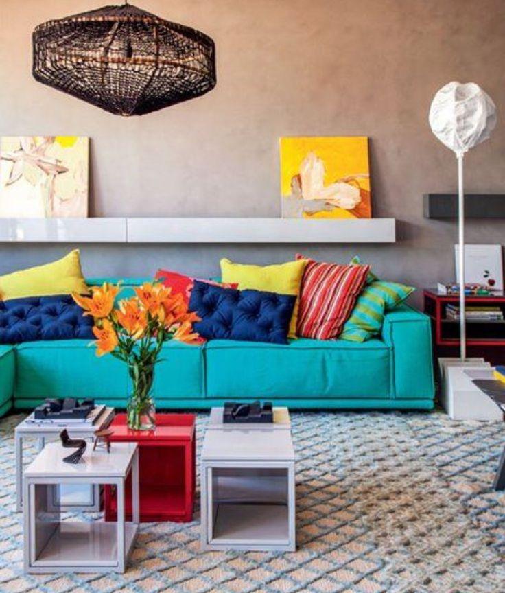 El Color Azul Est De Moda Color Azul Decorar Tu Casa Y