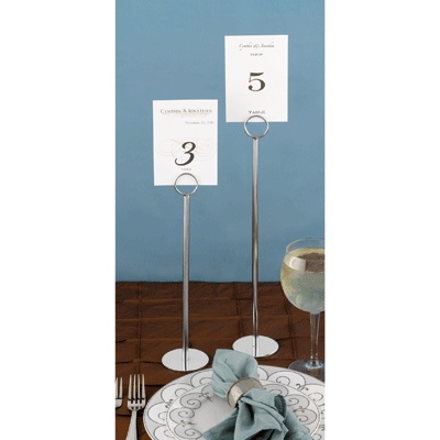 tall table number holders 3