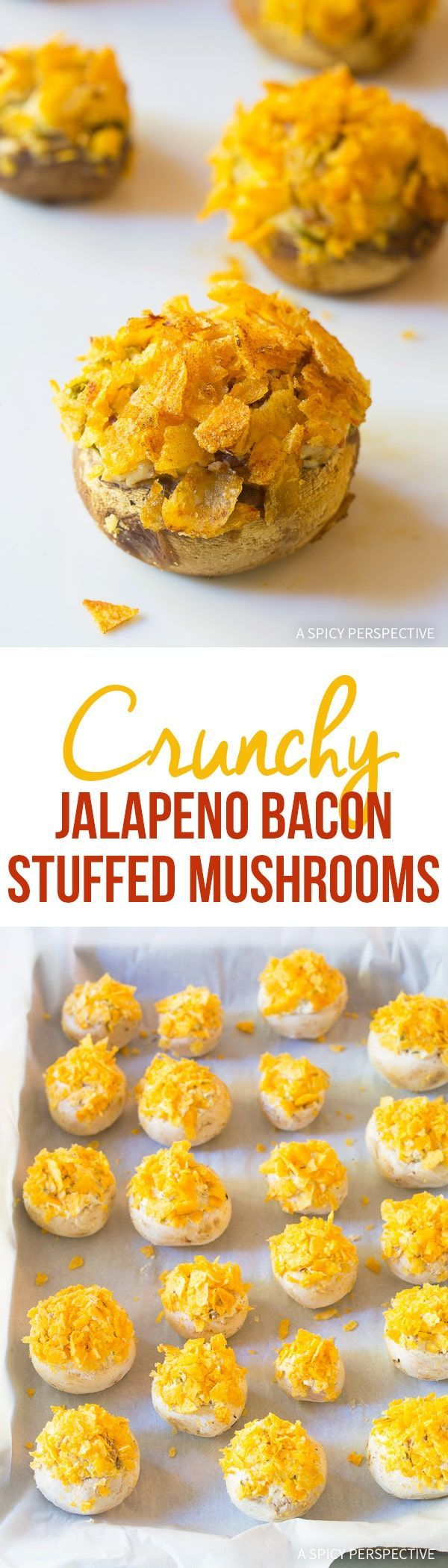 Getting ready for your holiday parties this season? You've got to try our Crunchy Jalapeno Bacon Stuffed Mushrooms, a 5-ingredient party snack with massive wow-factor from @FritoLay Lay's Cheddar & Sour Cream Potato Chips! #mingleinabox #ad