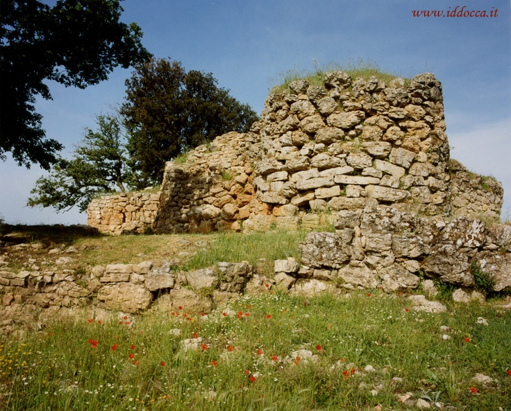 The Nuraghe Adoni dating back to the Bronze Age