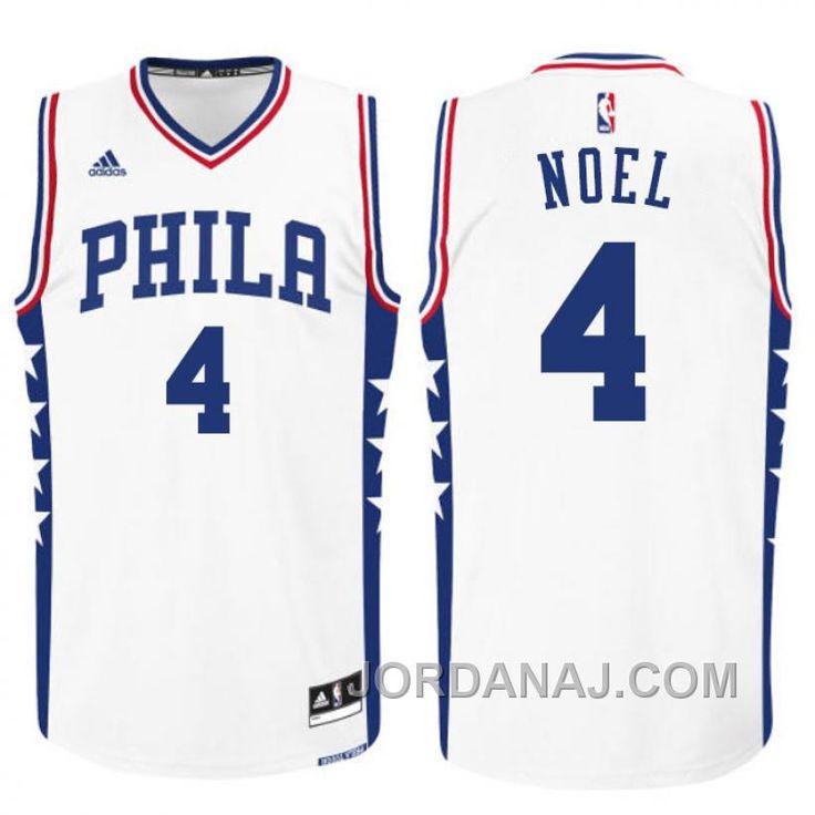 http://www.jordanaj.com/2015-nba-draft-philadelphia-76ers-4-nerlens-noel-home-white-swingman-jersey.html 2015 NBA DRAFT PHILADELPHIA 76ERS #4 NERLENS NOEL HOME WHITE SWINGMAN JERSEY Only 83.13€ , Free Shipping!