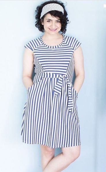 Selmin's Zadie dress - sewing pattern by Tilly and the Buttons