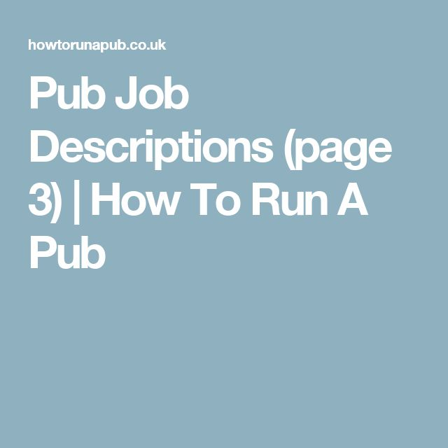 The 25+ best Pub jobs ideas on Pinterest Sales website - sales and marketing job description