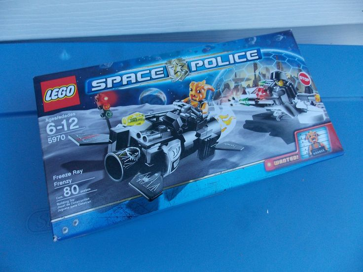 Lego Space Police 5970 Freeze Ray Frenzy with Kranxx IN BOX #LEGO
