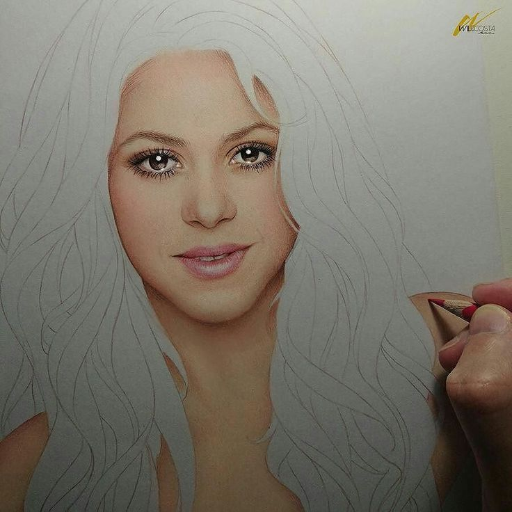 WANT A SHOUTOUT ?   CLICK LINK IN MY PROFILE !!!    Tag  #DRKYSELA   Repost from @_willcosta   Shakira II in progress #2. #art #illustration #drawing #draw #portrait #fanart #sketch #wip #freehand #artnouveau #realism #work #coloredpencils #popart #beauty #makeup #shakira #wolves #latin #pop #music #diva #blonde #shewolf #willcosta  w/ @shakira via http://instagram.com/zbynekkysela