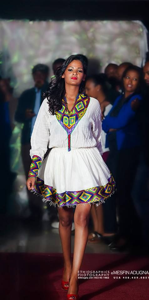 Modern Ethiopian traditional cloth by Tsehaye Mehari