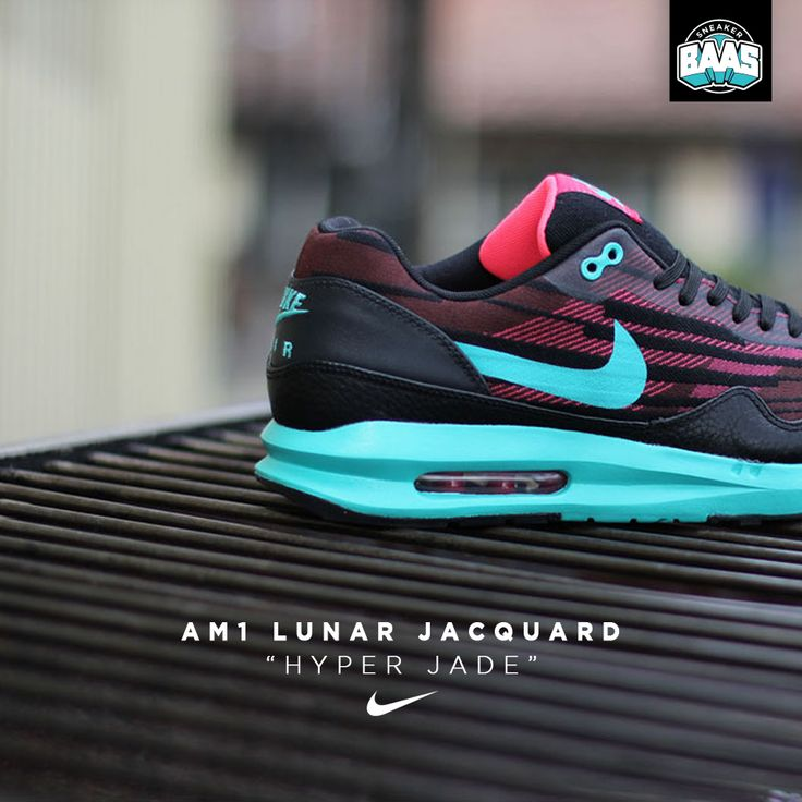 "Nike AM1 Lunar Jacquard ""Hyper Jade"" | New Lunar Air Max | www.sneakerbaas.nl | #nike #AM1 #lunar #baasbovenbaas"