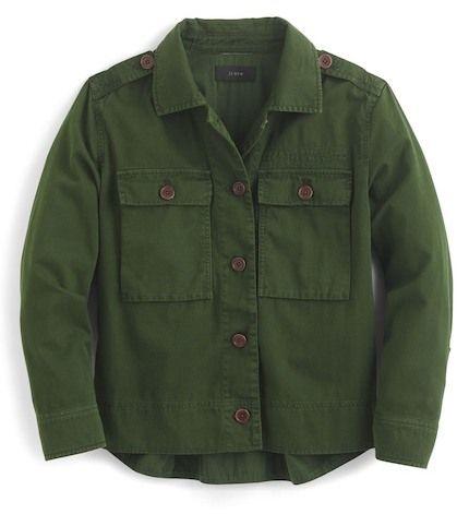 J.Crew J. Crew Garment Dyed Safari Shirt Jacket (Regular & Petite)