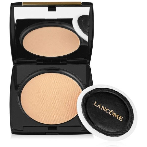 Lancome Dual Finish Multi-Tasking Powder Foundation (534.235 IDR) ❤ liked on Polyvore featuring beauty products, makeup, face makeup, foundation, matte ecru ii, moisturizing foundation, powder foundation, hydrating powder foundation, lancôme and lancome face makeup