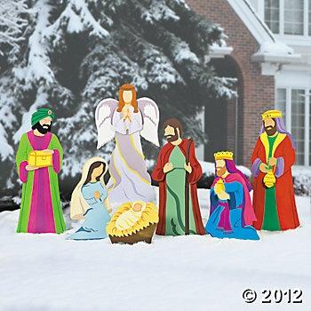 Deluxe Nativity Scene