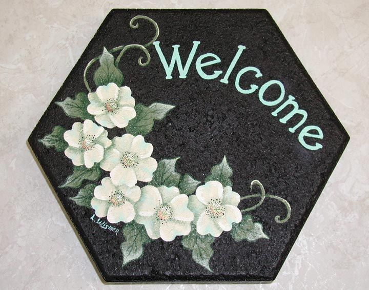 Painted Rock Welcome Signs | Welcome Sign