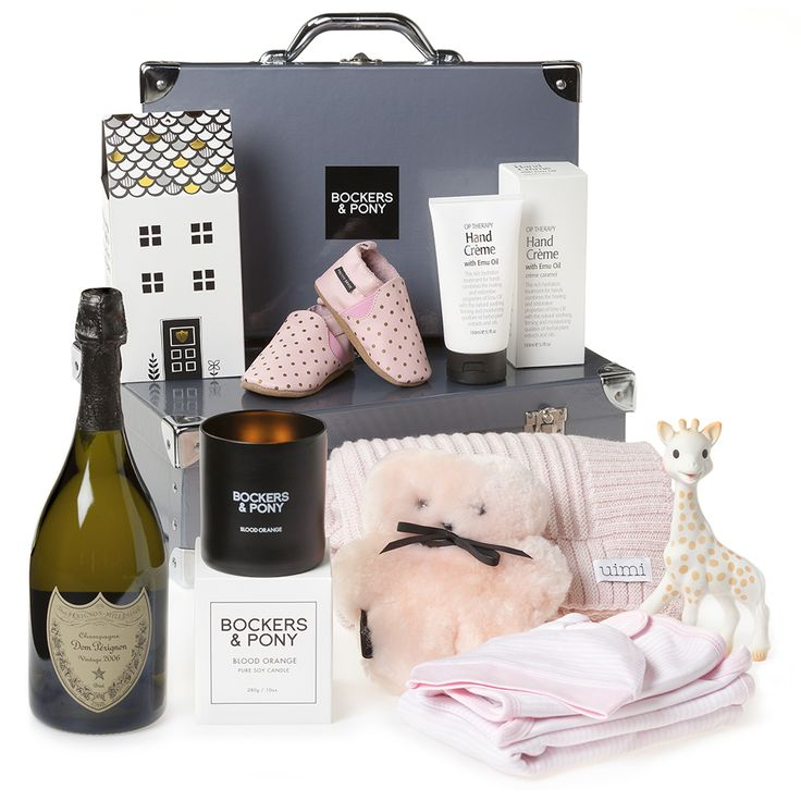 Labour of Love Baby Girl Hamper | Luxury Baby Gifts & Hampers | Bockers and Pony