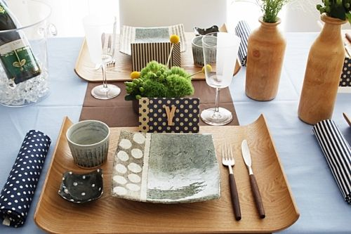 和食器遊び ~デザインを楽しむ北欧風テーブルコーディネート~