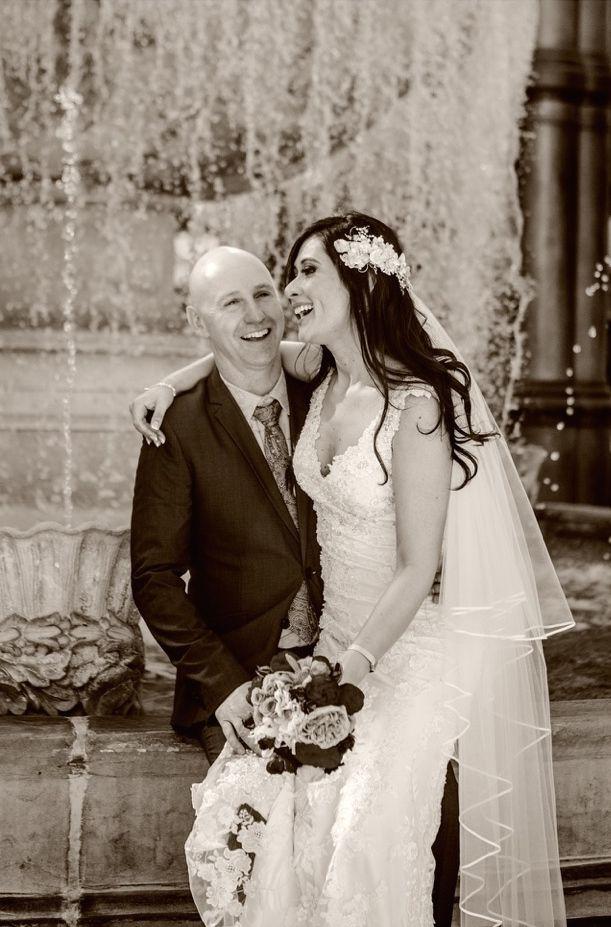 "Roscia is wearing the ""Rhiannon"" wedding dress from Jenny's Bridal www.jennysbridal.co.nz  (Photo credit: Jessica Photography)"