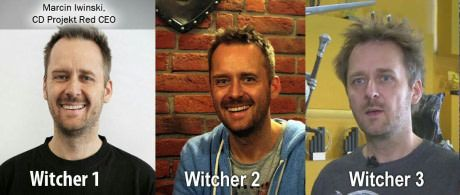 The CEO of CD Projekt Red.