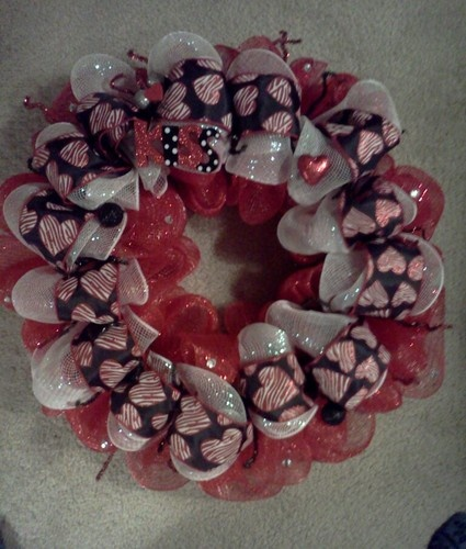 Valentine's Valentines Day Deco Mesh Wreath | eBayValentine'S Day, Holiday Ideas, Crafts Ideas, Cupid Corner, Valentine Mesh, Valentine'S Wreaths, Valentine Wreaths, Deco Mesh Wreaths, Express Design