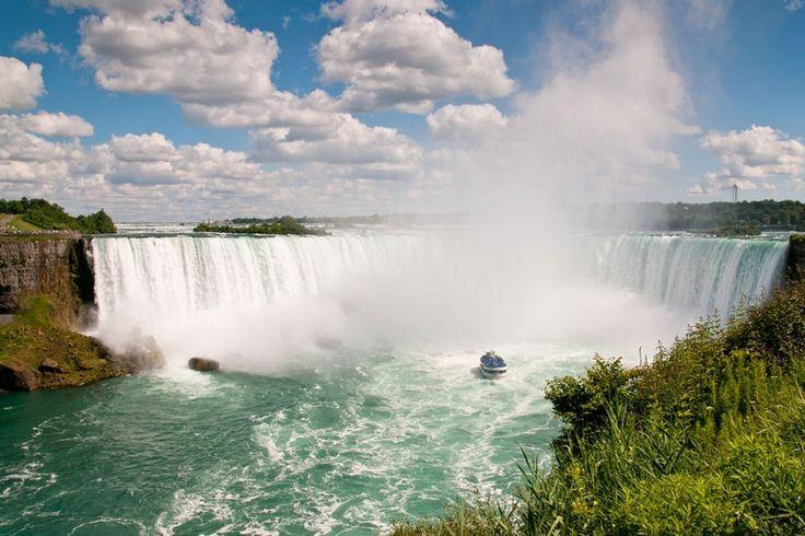 Les trois chutes du Niagara