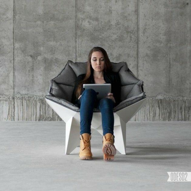 fauteuil ergonomique de design moderne