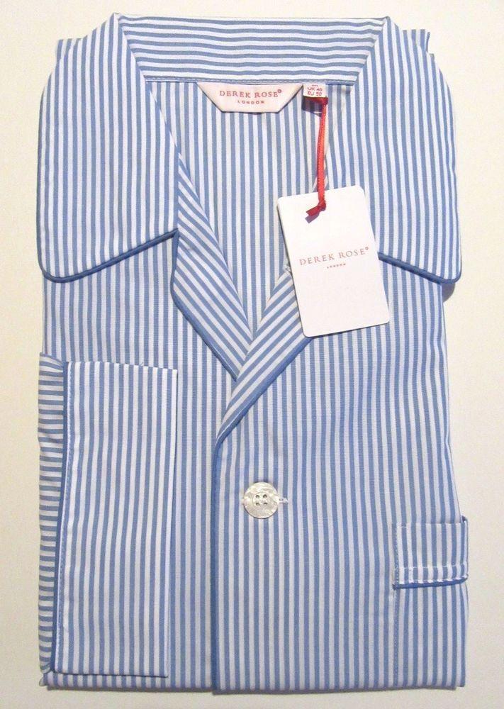 Derek Rose Men/'s Pure Cotton Pyjamas