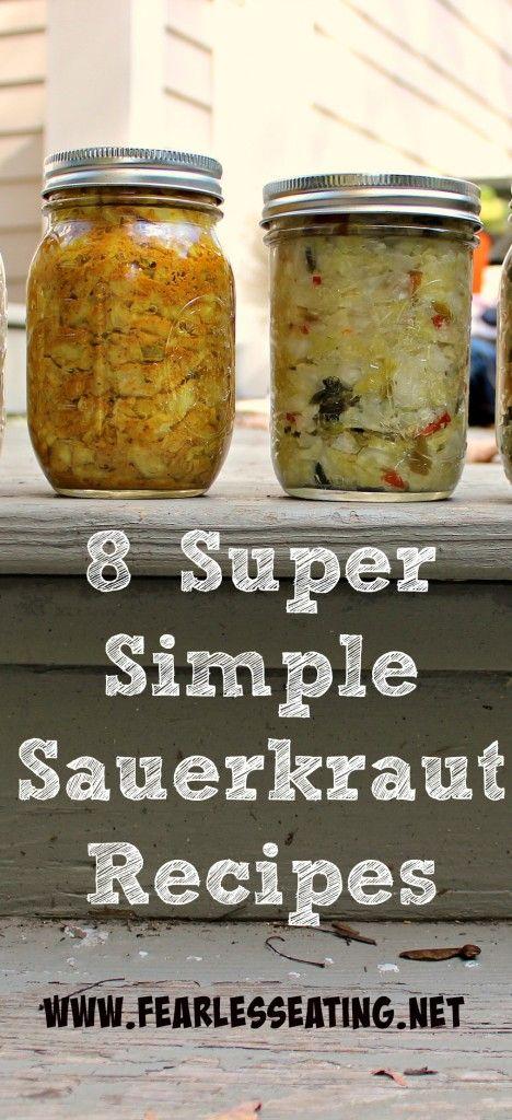 8 Super Simple Sauerkraut Recipes   www.fearlesseating.net