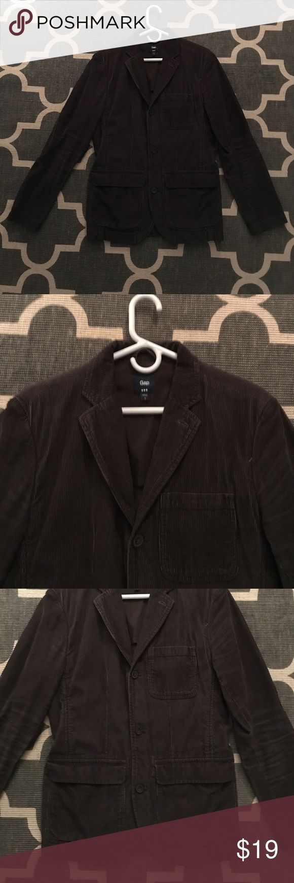 Men's corduroy jacket Great for fall!  Excellent condition!  Has elbow patches. GAP Jackets & Coats