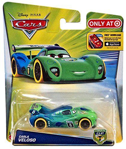 Disney Cars Carnival Cup Carla Veloso Yellow Tires